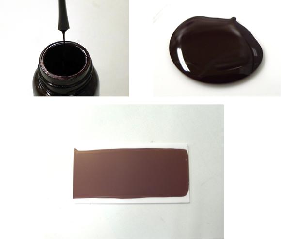 当研究室で合成できるペーストと基板に塗布した例