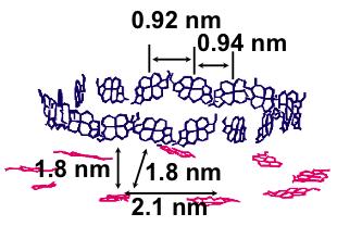 図1.植物の光捕集系の制御された分子配置