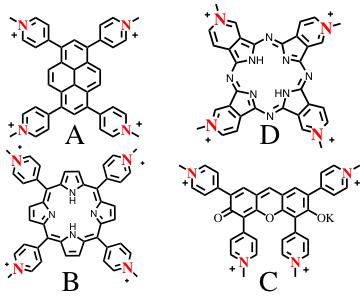 図4.設計、合成した光捕集色素